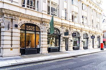A street scene in St. James, London, England, United Kingdom, Europe