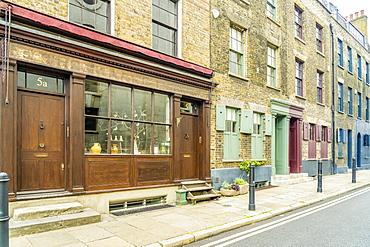 18th century Georgian architecture, Shoreditch, London, England, United Kingdom, Europe