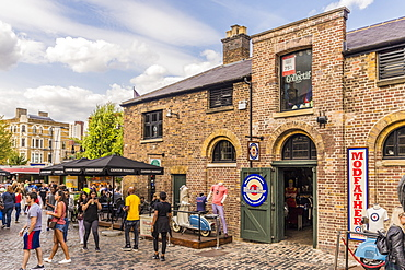 A view of Camden Market, London, England, United Kingdom, Europe