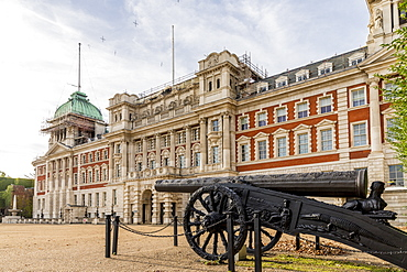 The Turkish gun on Horse Guards Parade ground, London, England, United Kingdom, Europe