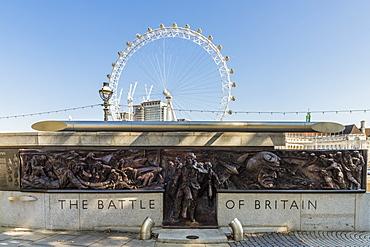 The Battle of Britain Memorial Monument, London, England, United Kingdom, Europe