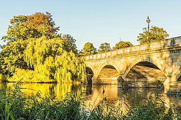 The Serpentine Bridge in Hyde Park, London, England, United Kingdom, Europe