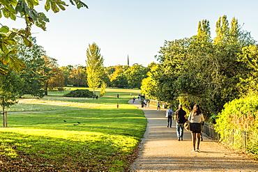 Kensington Gardens, Hyde Park, London, England, United Kingdom, Europe