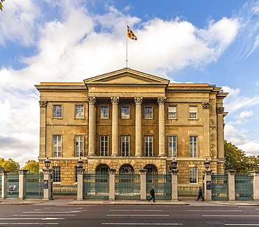 Apsley House, famous for having the address Number 1 London, Hyde Park Corner, London, England, United Kingdom, Europe