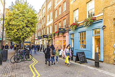 Neal Street in Covent Garden, London, England, United Kingdom, Europe