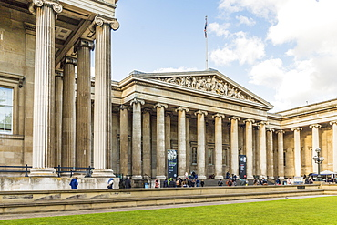 The British Museum in Bloomsbury, London, England, United Kingdom, Europe