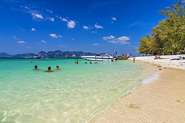 Poda Island in Ao Nang, Krabi, Thailand, Southeast Asia, Asia