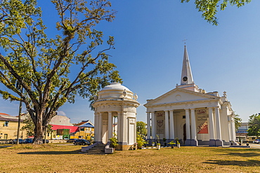St. Georges church, George Town, Penang Island, Malaysia, Southeast Asia, Asia