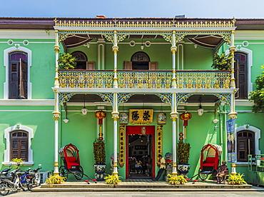 Pinang Peranakan Mansion, George Town, Penang Island, Malaysia, Southeast Asia, Asia