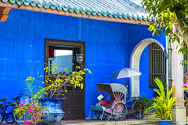 Cheong Fatt Tze, The Blue Mansion, George Town, Penang Island, Malaysia, Southeast Asia, Asia