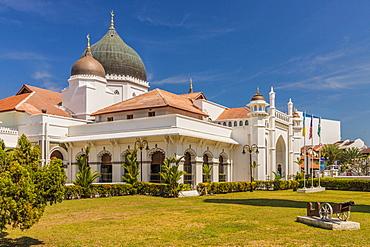 Kapitan Keling Mosque, George Town, Penang Island, Malaysia, Southeast Asia, Asia