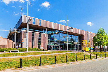 Copernicus Science Centre in Warsaw, Poland, Europe.