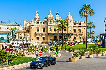 Casino Monte Carlo in Monte Carlo, Monaco, Cote d'Azur, French Riviera, Mediterranean, France, Europe