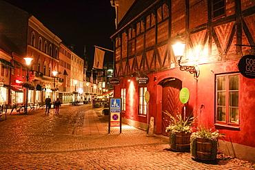 Skomakaregatan street in the old city centre, Malmo, Skane county, Sweden, Europe