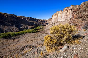Scenic view of Pinturas Canyon, Patagonia, Province of Santa Cruz, Argentina, South America
