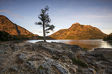 A typical Patagonian landscape, Bariloche, San Carlos de Bariloche, Patagonia, Argentina, South America