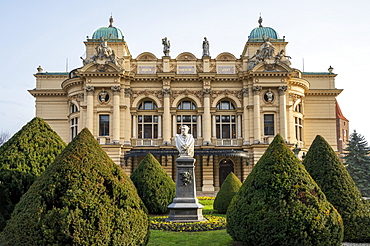 Juliusz Slowacki Theater opera house, UNESCO World Heritage Site, Krakow, Poland, Europe