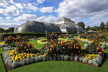 The Palm House, Kew Gardens, UNESCO World Heritage Site, Kew, Greater London, England, United Kingdom, Europe