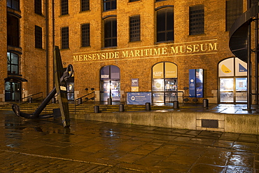 The Merseyside Maritime Museum, Liverpool, Merseyside, England, United Kingdom, Europe