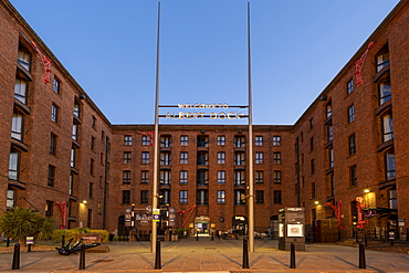 The Beatles Story and entrance to the Royal Albert Dock, Liverpool, Merseyside, England, United Kingdom, Europe