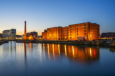 Merseyside Maritime Museum and Pump House at the Albert Dock, Liverpool, Merseyside, England, United Kingdom, Europe