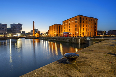The Merseyside Maritime Museum and Pump House at the Albert Dock, Liverpool, Merseyside, England, United Kingdom, Europe