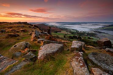 Curbar Edge, Peak District, Derbyshire