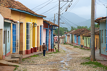 Street scene, Trinidad, Cuba, West Indies, Caribbean, Central America