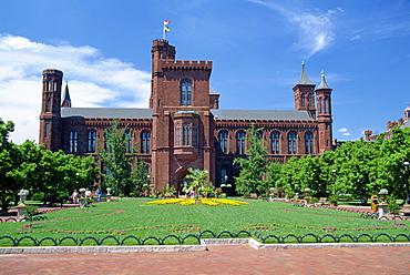 Smithsonian Institute building, Washington D.C., United States of America, North America