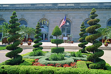 Topiary in the United States Botanic Gardens in Washington D.C., United States of America, North America