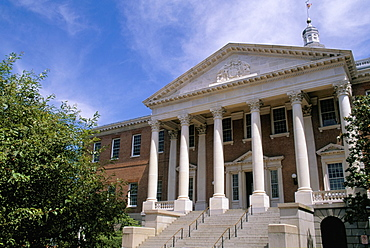 The State House, Annapolis, Maryland, United States of America, North America