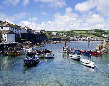 Harbour, Coverack, Cornwall, England, United Kingdom, Europe