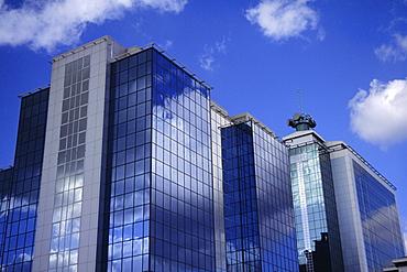 Modern building, Salford Quays, Manchester, England, UK, Europe
