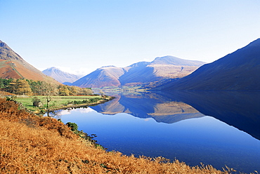 Wastwater, Lake District National Park, Cumbria, England, United Kingdom, Europe