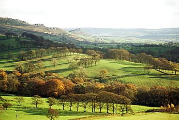 Landscape near Wincle, Cheshire, England, United Kingdom, Europe