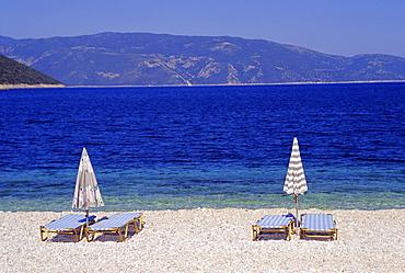 Antisamos Beach, Cephalonia, Ionian Islands, Greece, Europe