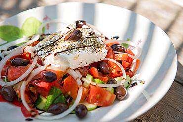 Cypriot Village Salad, Cyprus, Mediterranean, Europe