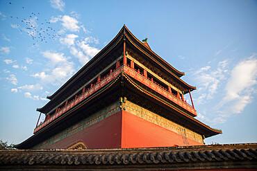 Drum Tower, Beijing, China, Asia