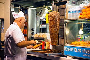 Ciligun Durum turkish restaurant near Taksim square, Istanbul