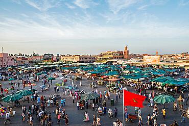 Jemaa el-Fna Square, UNESCO World Heritage Site, Marrakech, Morocco, North Africa, Africa