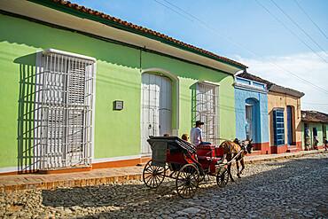 Trinidad, UNESCO World Heritage Site,Sancti Spiritus, Cuba, West Indies, Central America