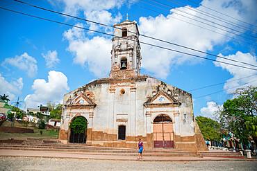 Church Iglesia de of Santa Ana, Trinidad, Sancti Spiritus, Cuba, West Indies, Central America