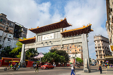 China Town, Havana, Cuba, West Indies, Central America