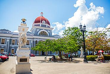Palacio de Gobierno, Cienfuegos, UNESCO World Heritage Site, Cuba, West Indies, Central America