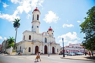 Catedral de la Purisima Concepcion, Plaza de Armas, Cienfuegos, UNESCO World Heritage Site, Cuba, West Indies, Central America