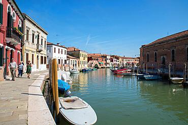 Murano island, Venice, UNESCO World Heritage Site, Veneto, Italy, Europe