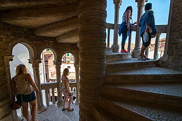 View from Palazzo Contarini del Bovolo staircase, Venice, UNESCO World Heritage Site, Veneto, Italy, Europe