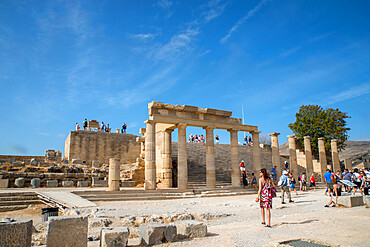 The Acropolis of Lindos, Rhodes, Greece