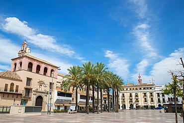 Plaza de Espana, Ecija, Andalucia, Spain, Europe