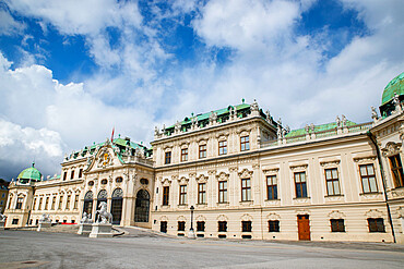 Belvedere palace and museum, Vienna